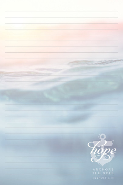 Hope - Stationery Pad - by Heartwarming Thoughts