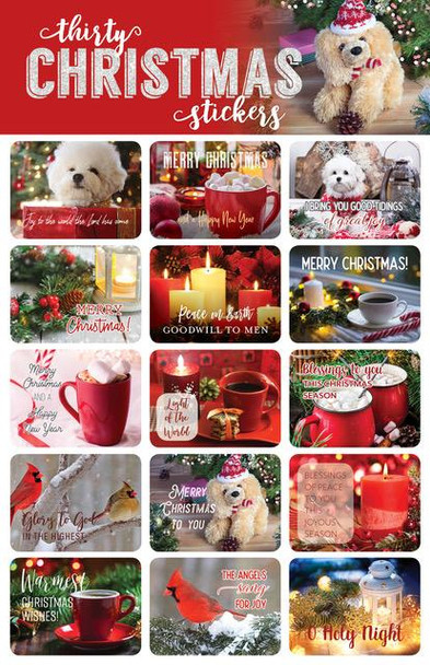 Christmas Stickers - 2 sheets