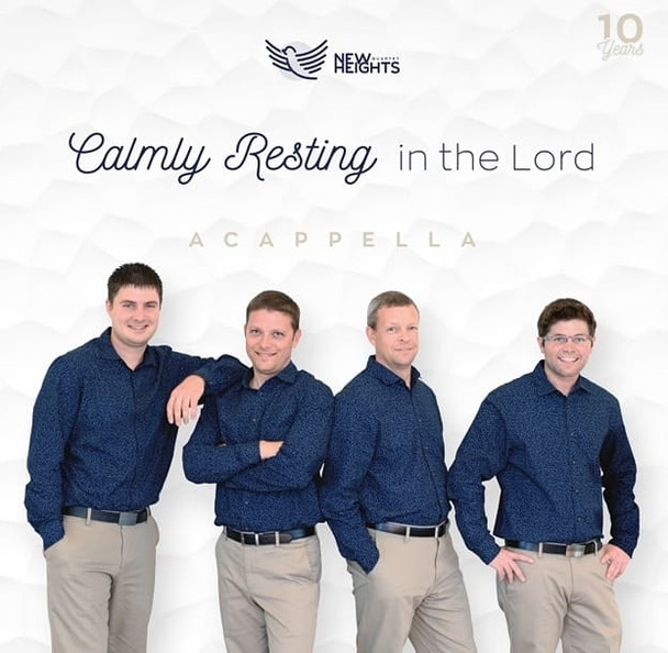 Calmly Resting in the Lord CD by New Heights Quartet
