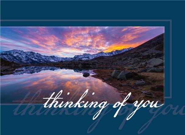 KJV Boxed Cards - Thinking of You, The Solid Rock by Heartwarming Thought