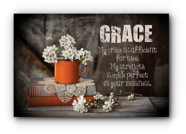 Grace - Wall Plaque by Heartwood Hollow