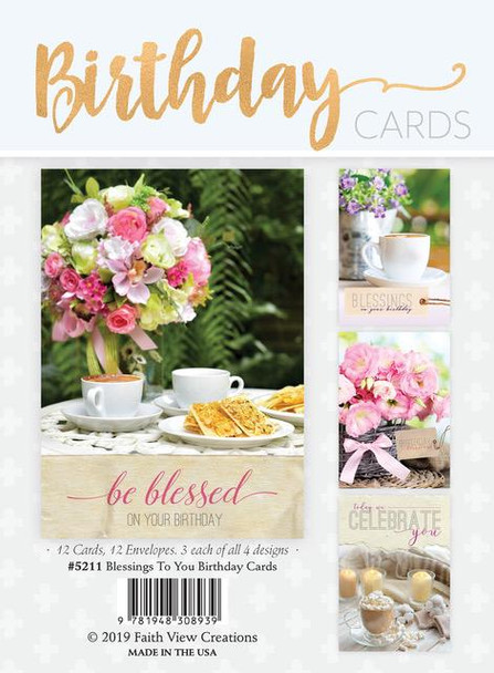 KJV Boxed Cards - Blessings To You - Birthday Cards