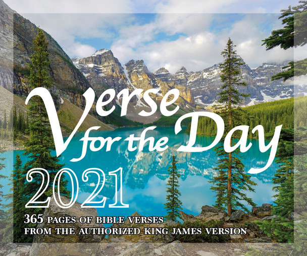 Verse for the Day - 2021 Daily Bible Calendar with KJV Scripture