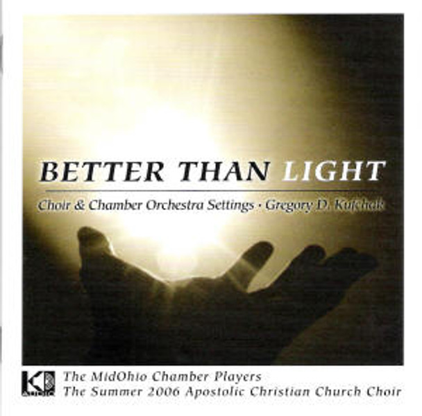 Better Than Light CD by MidOhio Chamber Players