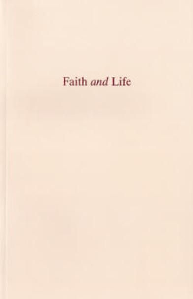 Faith and Life - Book