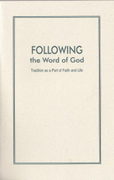 Following the Word of God - Book
