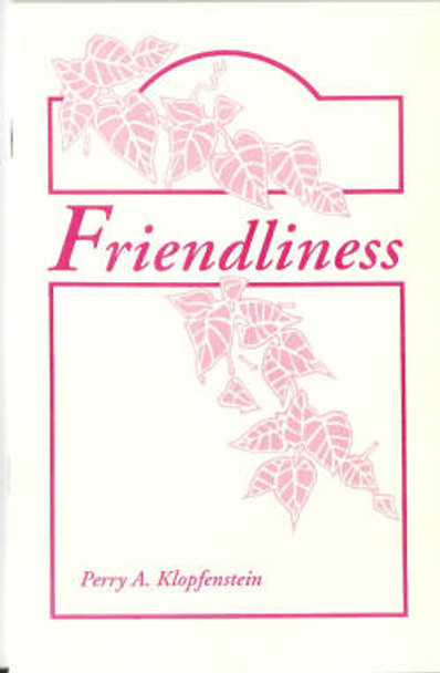 Friendliness - Book