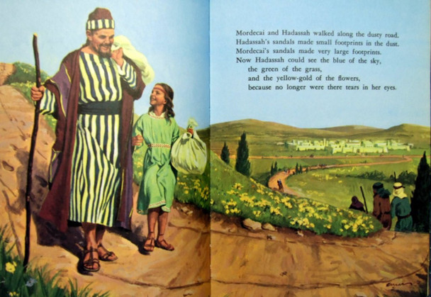 Esther Picture - in My bible Friends Books
