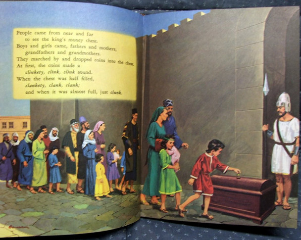 Joash Repairs the Temple - My Bible Friends Book One