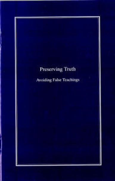 Preserving Truth - Book