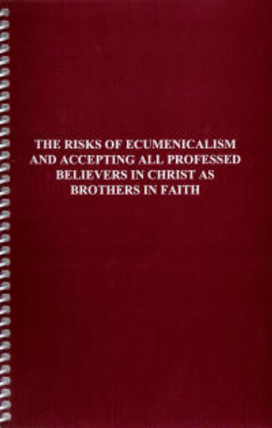 The Risks of Ecumenicalism - Book