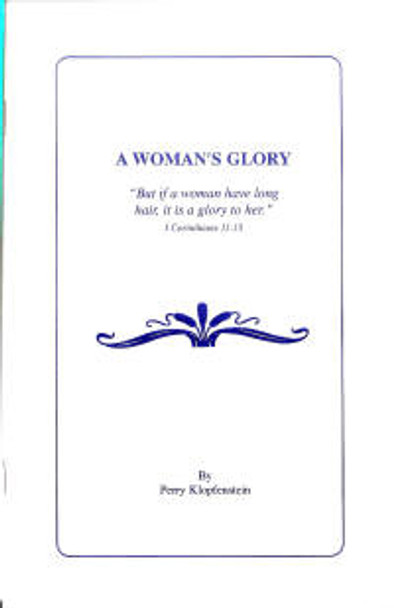 A Woman's Glory - Book
