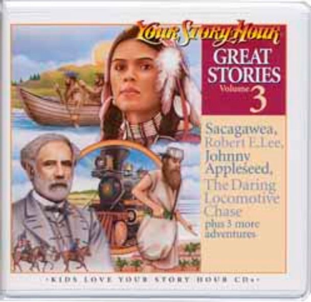 Great Stories Vol 3 Audio CDS by Your Story Hour