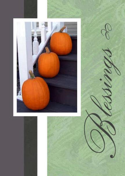 """Blessings - 5"""" x 7"""" KJV Greeting Card"""