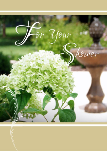 "For Your Wedding Shower - 5"" x 7"" KJV Greeting Card"