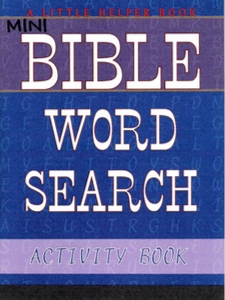 Mini Bible Word Search Activity Book