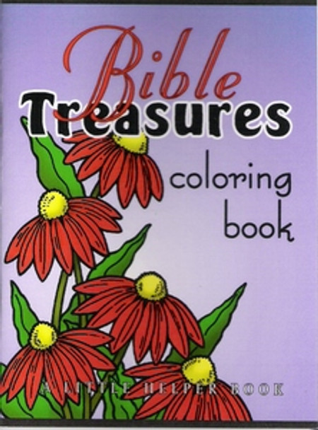 Mini Bible Treasures Coloring Book