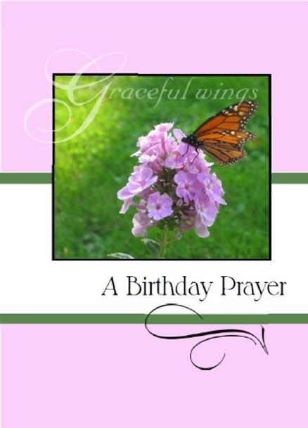 "A Birthday Prayer - 5"" x 7"" KJV Greeting Card"
