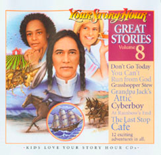 Great Stories Vol 8 Audio CDsby Your Story Hour