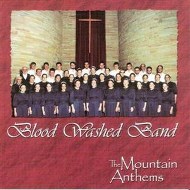 Blood Washed Band CD by Mountain Anthems