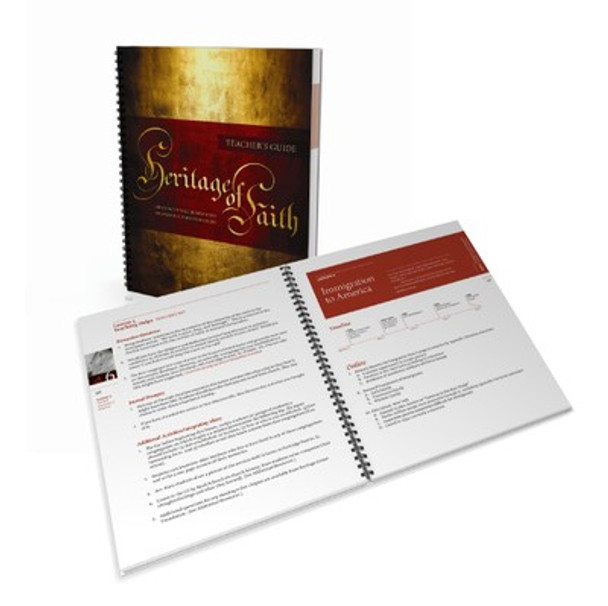 Heritage of Faith: Teacher's Guide (2 Free Items Included)