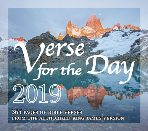 Bible Verse For The Day 365 Pages Daily Desk Calendar