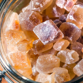 Amber Sugar Crystals