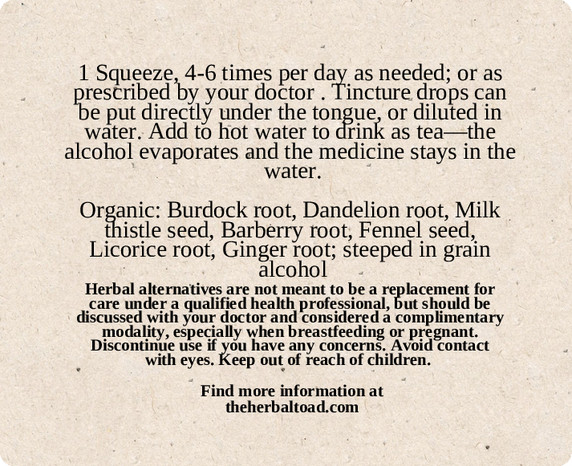 Liver Cleanse Tincture
