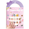 Nail Sticker by Girl Nation in Animal Friends design