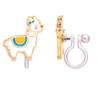 Glama Llama Cutie Clip On Earring by Girl Nation