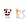 Panda Love Cutie Clip On Earrings by Girl Nation
