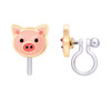 Precious Pig Cutie Clip On Earrings by Girl Nation