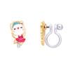 Kitty Ballerina Clip On Earrings by Girl Nation