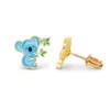 Cute Koala Cutie Enamel Stud Earrings from Girl Nation