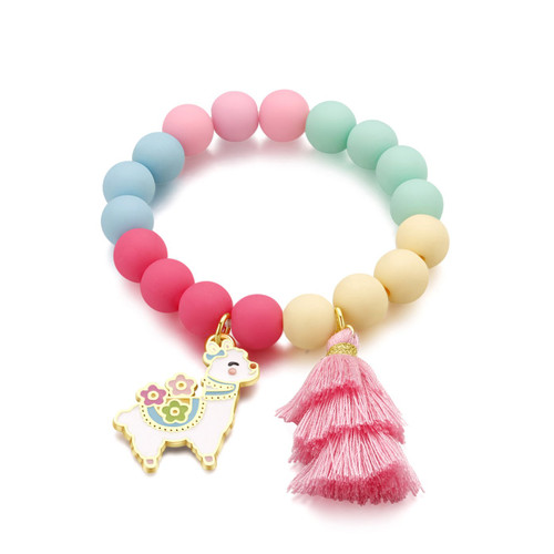 Glama Llama Charming Whimsy Bracelet by Girl Nation