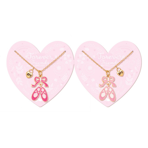Ballet Besties Friendship Necklaces by Girl Nation