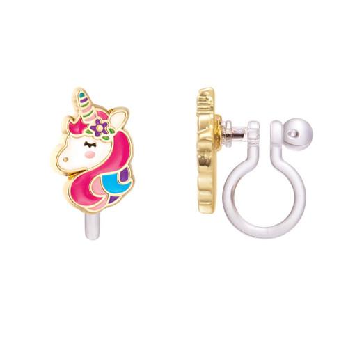 Unicorn Dreams Cutie Clip On Earrings from Girl Nation