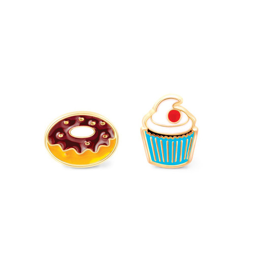 Sugar Rush Donut and Cupcake Earrings by Girl Nation