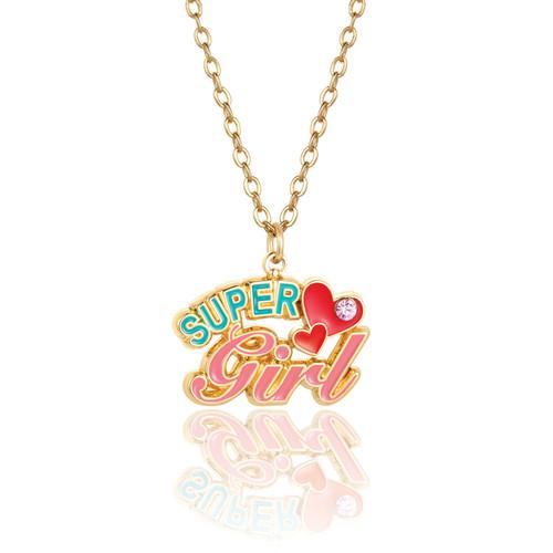 Super Girl Necklace