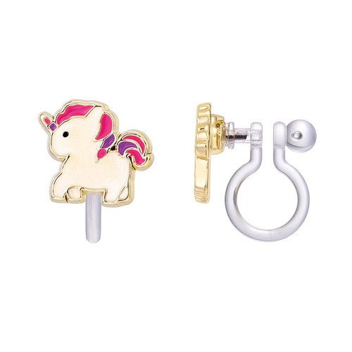 Magical Unicorn Clip-On Earrings