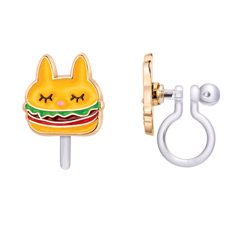 Un-Burger-lievable Clip On Earrings by Girl Nation