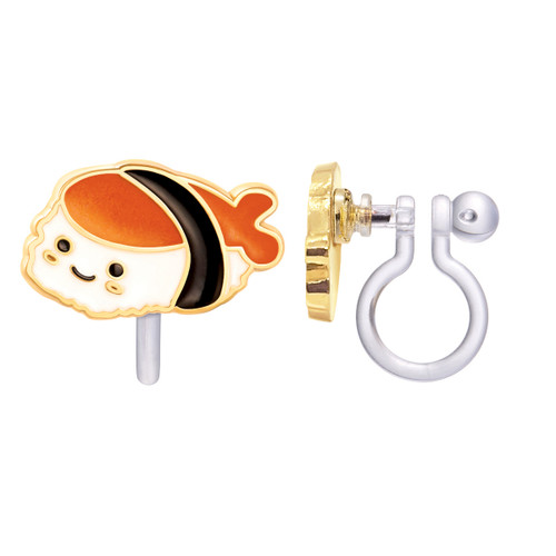 Sushi Time Cutie Clip On Earrings by Girl Nation
