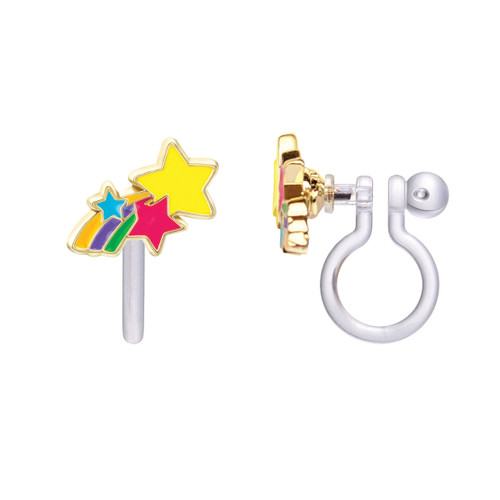Shooting Stars Cutie Clip On Earrings by Girl Nation