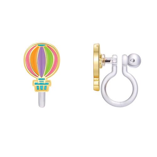 Hot Air Balloon Cutie Clip On Earrings