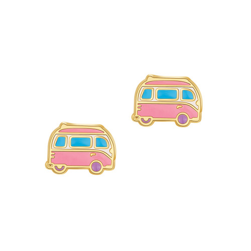 Happy Camper Cutie Stud Earrings
