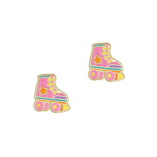 Roller Skate Cutie Stud Earrings