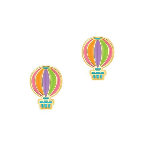 Hot Air Balloon Cutie Stud Earrings