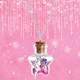 Free Spirit Fairy Magic in a Bottle Necklace by Girl Nation