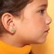 Frog Clip On Earrings