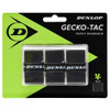 Dunlop Gecko-Tac Overgrips 3 Pack - Black